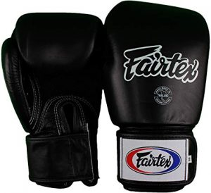 Fairtex Muay Thai Boxing Gloves. BGV1-BR Breathable Gloves. Color