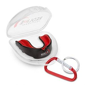 Redline Sportswear Custom Molded BPA-Free Mouthguard With a Case